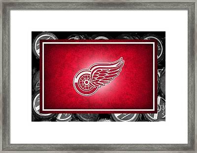 Detroit Red Wings Framed Print by Joe Hamilton