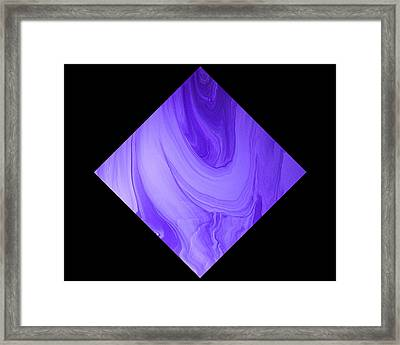Diamond 129 Framed Print