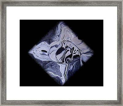 Diamond 203 Framed Print by J D Owen