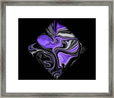 Diamond 206 Framed Print by J D Owen