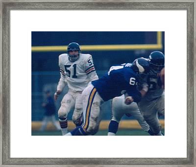 Dick Butkus Framed Print
