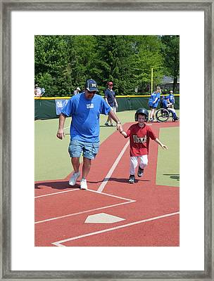 Disabled Baseball Game Framed Print by Jim West