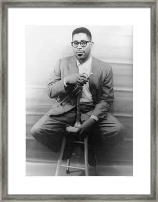 Dizzy Gillespie (1917-1993) Framed Print by Granger