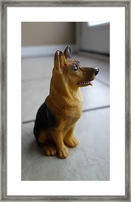 Dogs Framed Print by Tinjoe Mbugus