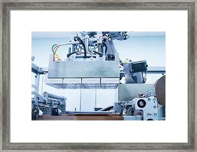 Drugs Production Framed Print