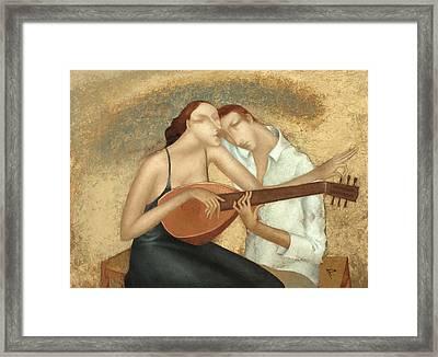 Duet Framed Print by Nicolay  Reznichenko