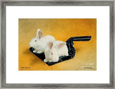 Dust Bunnies... Framed Print by Will Bullas