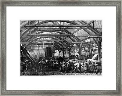 Dyeing Industry Framed Print by Science Photo Library