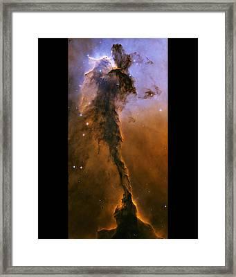 Eagle Nebula Framed Print by Nasa