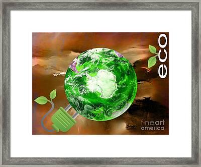 eco Framed Print by Marvin Blaine