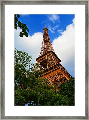 Eiffel Tower Paris France Framed Print by Patricia Awapara