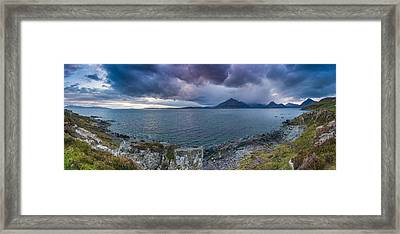 Elgol Sunset Framed Print
