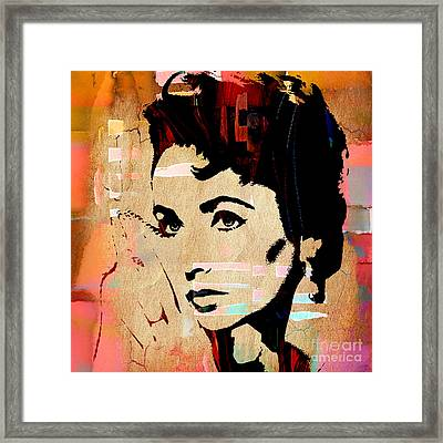 Elizabeth Taylor Collection Framed Print