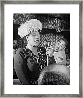 Ella Fitzgerald (1917-1996) Framed Print by Granger