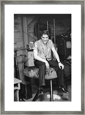 Elvis Presley 1956 Framed Print by The Harrington Collection