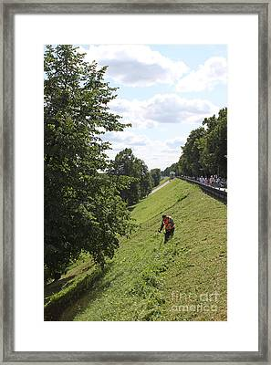 Embankment Framed Print