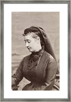 Empress Eugenie Of France (1826-1920) Framed Print
