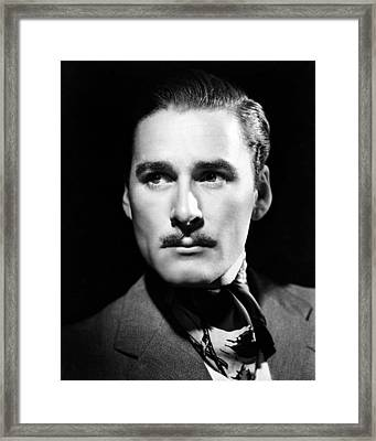 Errol Flynn Framed Print