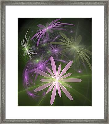 Ethereal Flowers Framed Print by Svetlana Nikolova