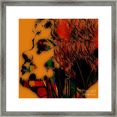 Etta James Collection Framed Print by Marvin Blaine