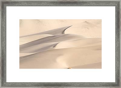 Eureka Dune Framed Print by Jean Noren