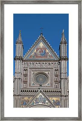Europe, Italy, Umbria, Orvieto, Orvieto Framed Print