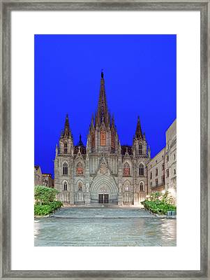 Europe, Spain, Catalonia, Barcelona Framed Print