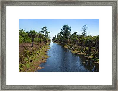 Everglades Restoration Framed Print by Jim West