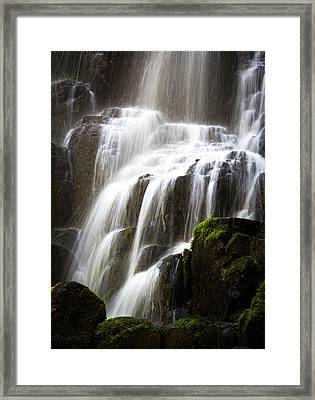Framed Print featuring the photograph Fairy Falls by Patricia Babbitt