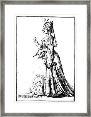 Farinelli (1705-1782) Framed Print by Granger