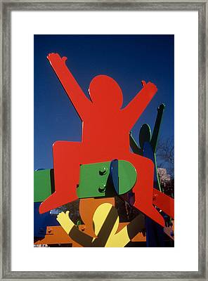 Fathers And Sons Framed Print by Peter Michel