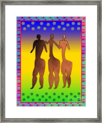 3 Sisters Framed Print by Walter Neal