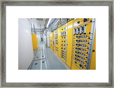 Fljotsdalur Hydro Power Station Framed Print