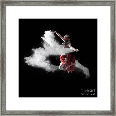 Flour Dancer Series Framed Print