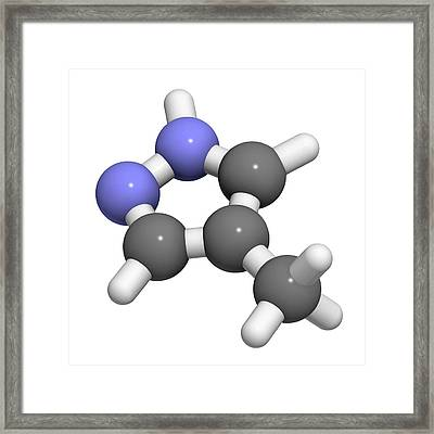 Fomepizole Methanol Poisoning Antidote Framed Print by Molekuul