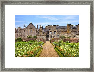 Forde Abbey Framed Print by Joana Kruse