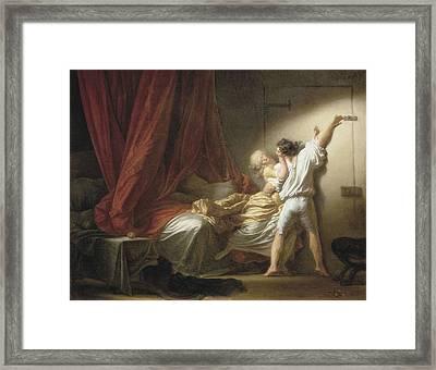 Fragonard, Jean Honor� 1732-1806. The Framed Print by Everett