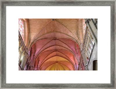 France, Burgundy, Nievre, Nevers Framed Print