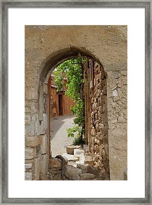 France, Vaucluse, Roussillon Framed Print