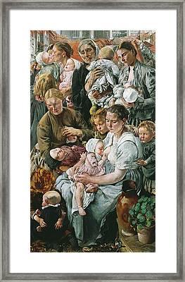 Frederic, L�on Henri Marie 1856-1940 Framed Print by Everett