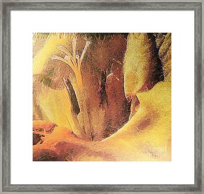 Freesia Flower Framed Print by Odon Czintos