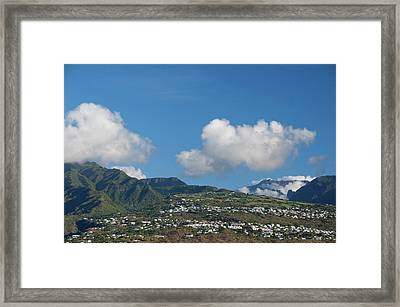 French Overseas Territory (aka Francais Framed Print by Cindy Miller Hopkins