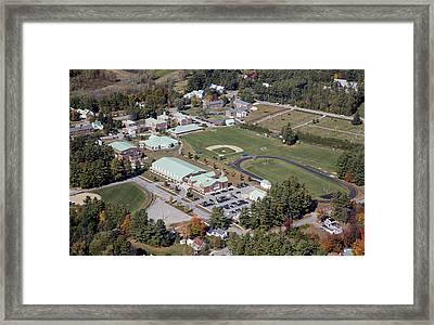 Fryeburg Academy, Maine Me Framed Print by Dave Cleaveland
