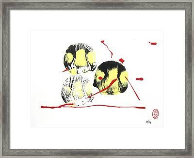 Fugu Ichi Framed Print