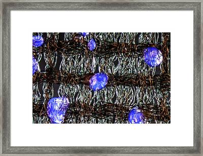 Fusible Interlining Framed Print by Gerd Guenther