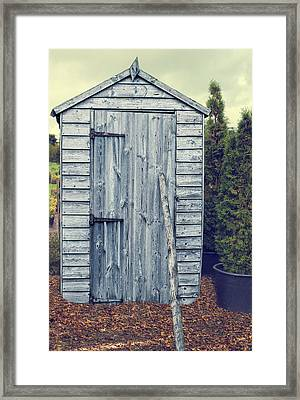 Garden Shed Framed Print by Amanda Elwell