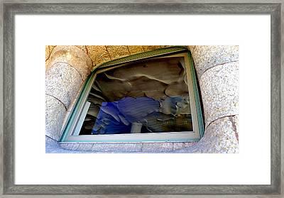 Gaudi Framed Print by Olga Breslav