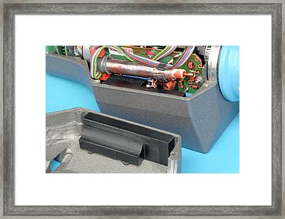 Geiger Counter Framed Print