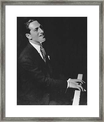 George Gershwin (1898-1937) Framed Print by Granger