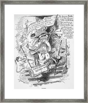 George Hunt Pendleton (1825-1889) Framed Print by Granger